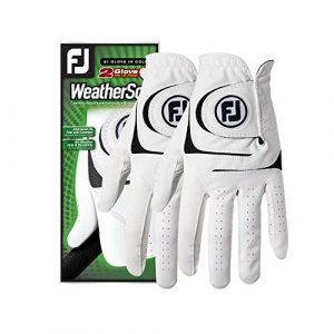 best golf glove FootJoy Men's WeatherSof Golf Gloves – Best 2 Pack