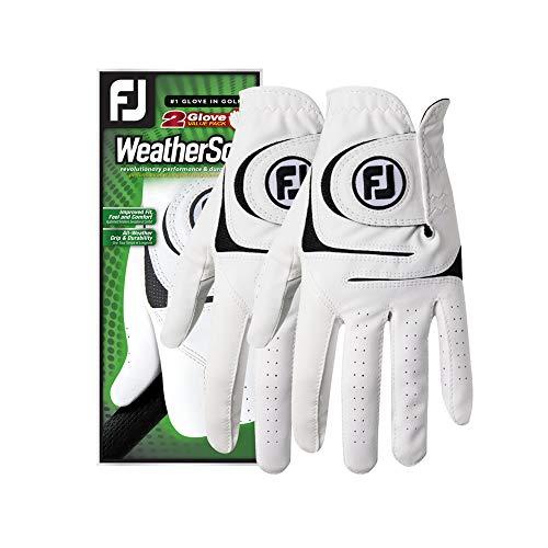 best golf glove FootJoy Men's WeatherSof Golf Gloves – Best 2 Pack