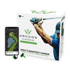 golf training aid Arccos Caddie Smart Sensors