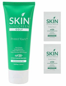 Golfers Skin Sunscreen