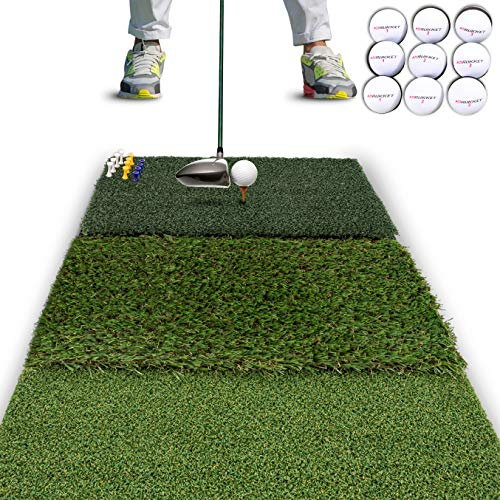 Golf hitting mats - Best, Review, 2020 - AEC Info