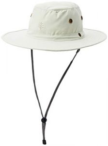 Coolibar Leo Shapeable Wide Brim Hat