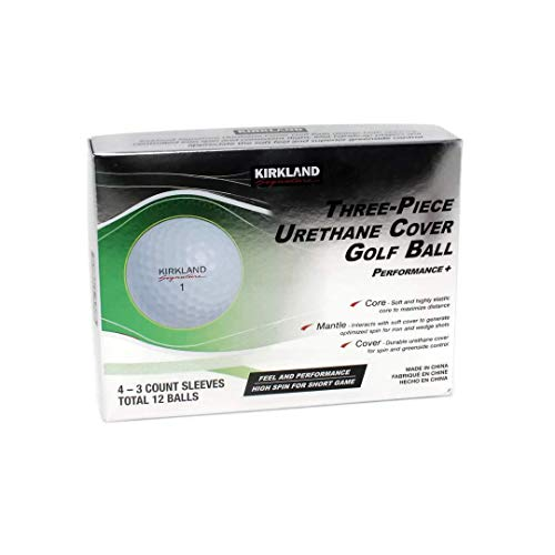 KLS 3-Piece Urethane Cover Golf Ball