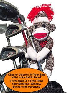 Slap Your Monkey! Golfers Dammit Doll