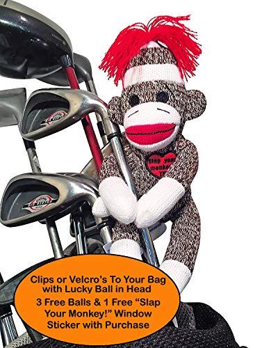 Slap Your Monkey! Golfers Dammit Doll