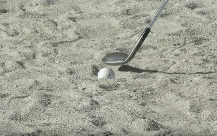 Patrick Reed Sand Penalty