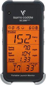 Voice Caddie SC200 Plus Swing Caddie review - AEC Info