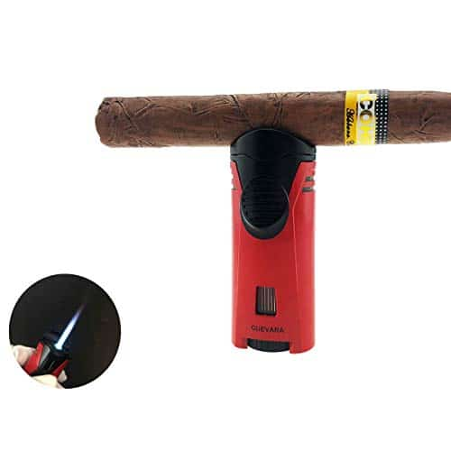 Cigar Lighter Torch with Cigar Stand