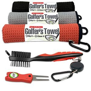 Fireball Golf Towel Gifts and Accessories Set