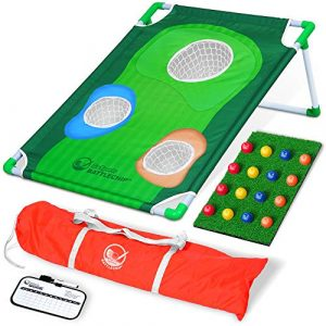 GoSports BattleChip Backyard Golf Cornhole Game