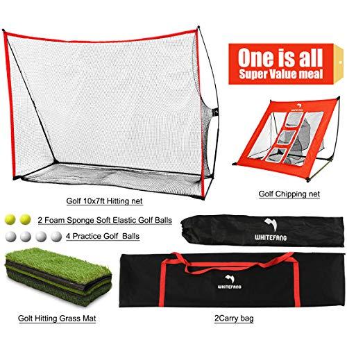 WhiteFang Golf Netting Bundle