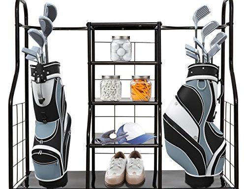 Garage Golf Bag Organizer Review