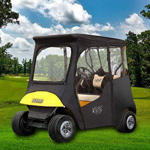 10L0L 2 Passenger Deluxe Golf Cart Driving Enclosures for EZGO