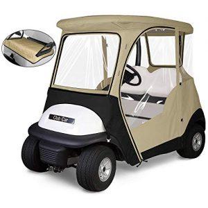 KAKIT 800D Fairway 4-Sided 2-Person Golf Cart Enclosure