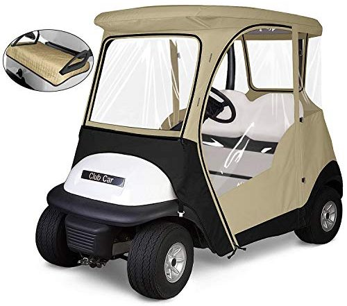 KAKIT 800D Fairway 4-Sided 2-Person Golf Cart Enclosure