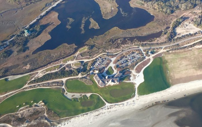 Kiawah Island Ocean Course Arial View - AEC Info