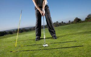 Setup using golf alignment sticks - AEC Info