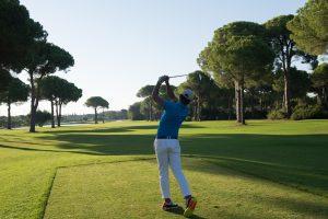 Golf shot, Low fade - AEC Info